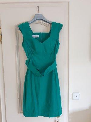 Bernd Berger Ołówkowa sukienka zielony Bawełna
