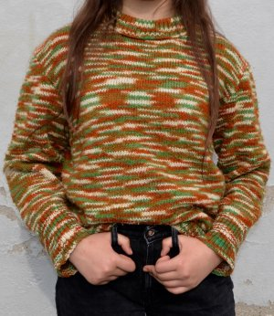 Vintage Knitted Sweater XXS/XS/S/M