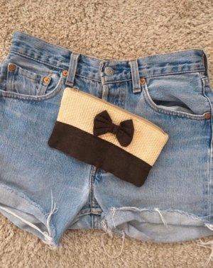 Mini Bag dark brown-cream