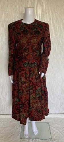 Vintage Kostüm: Bluse + Rock von Chalet von Sportalm 100% Wolle