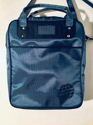 Vintage Kuoni Reisetasche in Blau
