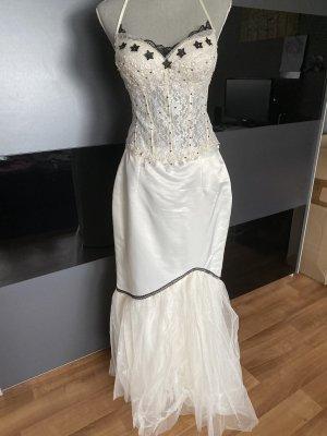 Vintage Kurvi 4teile Standesamt, Hochzeitskleid