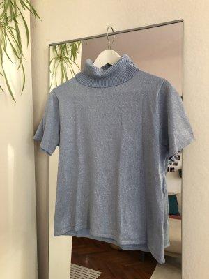 vintage Kurzarmshirt mit Rollkragen