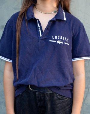 Lacoste Polo Shirt dark blue-white
