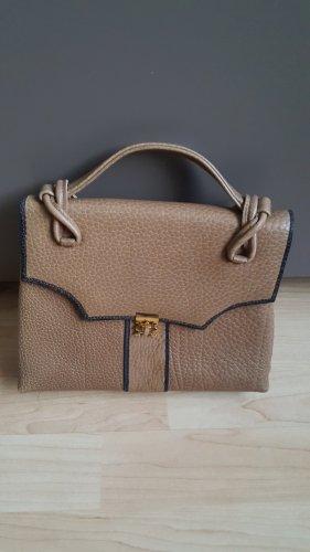 Vintage Leder Handtasche