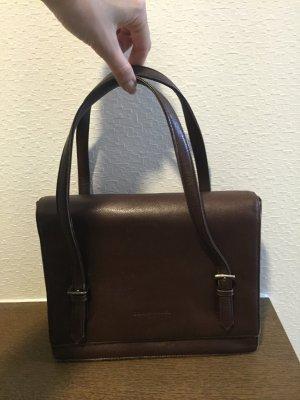 Vintage Leder-Handtasche von Sonia Rykiel