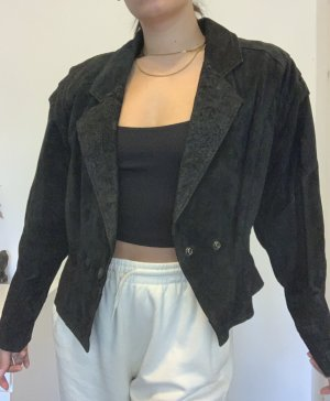 Vintage Leder Jacke