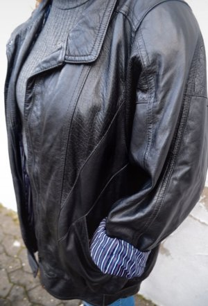 Vintage Leder Jacke Oversized