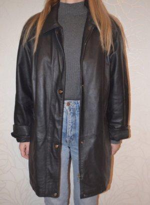 Vintage Leder Mantel