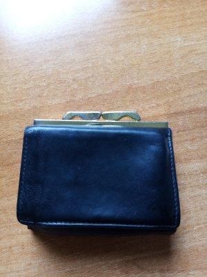 vintage Leder Portemonnaie