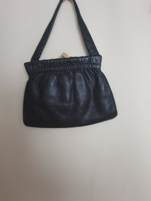 Vintage Leder schwarze Tasche