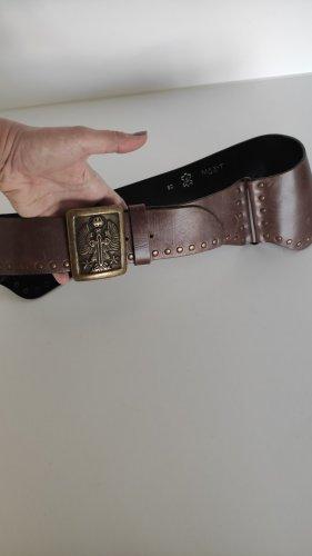 Vintage Leather Belt multicolored leather