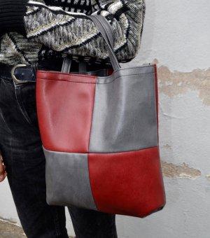 Vintage Leder Tote Bag