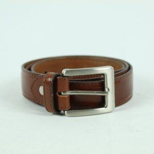 Vintage Cintura di pelle marrone-rosso Pelle