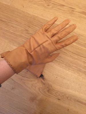 Leren handschoenen veelkleurig