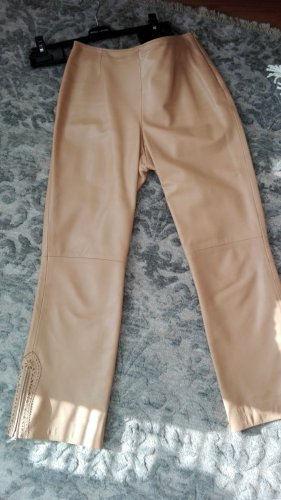 Escada Sport Leather Trousers beige