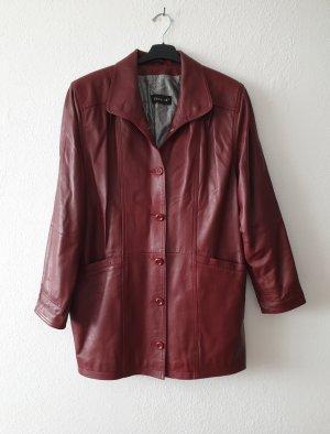 Vintage Lederjacke echt Leder von Tesatti in Größe 44