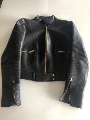 Vintage Lederjacke Gucci