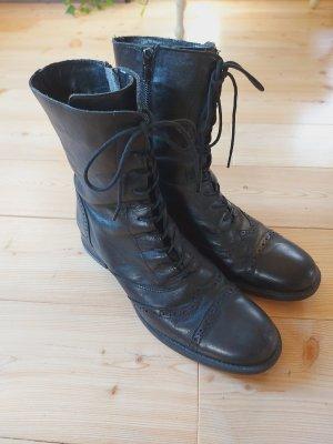Vintage Lederstiefel