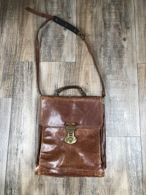 College Bag cognac-coloured-brown
