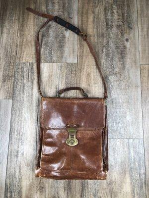 College Bag cognac-coloured-brown