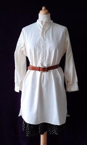Vintage (Leinen-)Nachthemd Tunika Longshirt