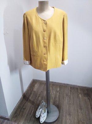 Basset Blazer court jaune-orange doré