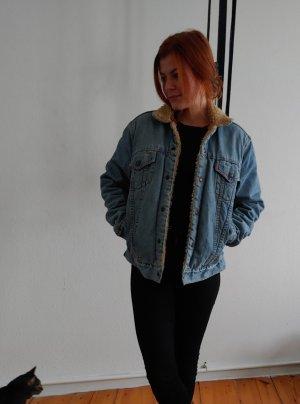* Vintage Levi's Jeansjacke, gefüttert *