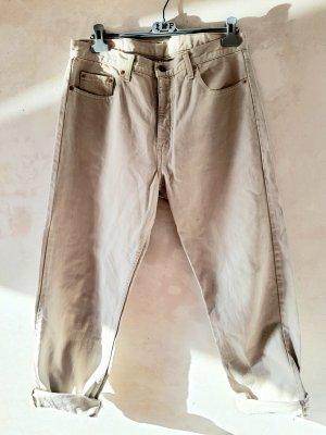 Levi Strauss & Co Jeans boyfriend beige clair