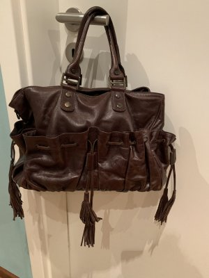 Liebeskind Berlin Carry Bag brown leather