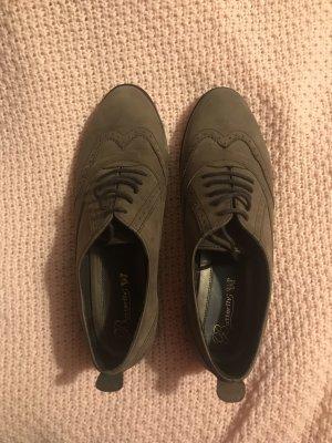Vintage Wingtip Shoes multicolored