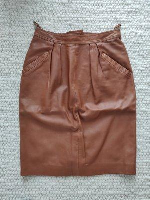 Loewe Falda de cuero multicolor