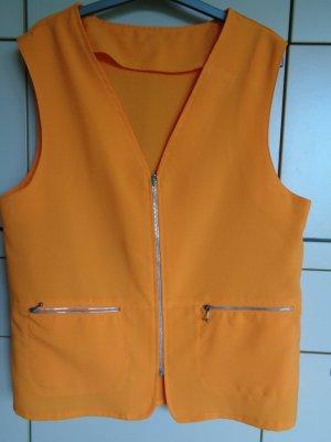 Vintage Sports Vests orange mixture fibre