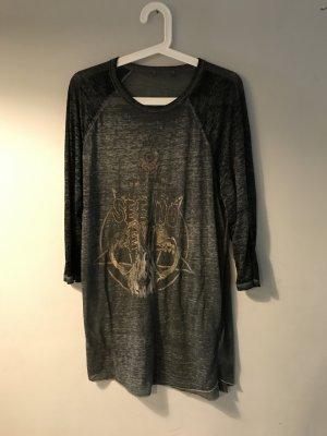Vintage Longsleeve T-shirt Kleid Band Shirt M L 38 40