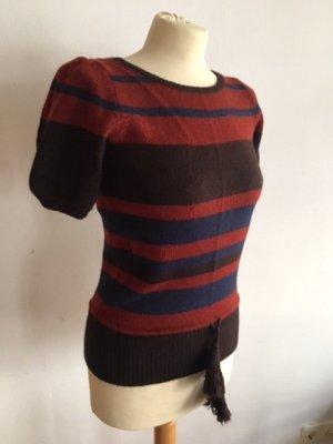 Sessun Jersey de manga corta multicolor lana de angora
