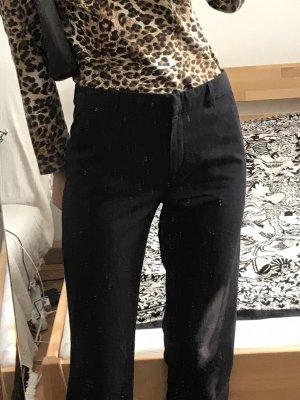 vintage low waist stoffhose