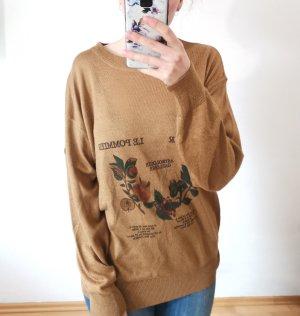 Vintage März Pullover oversized Gr. L/52 Leine Made in West Germany