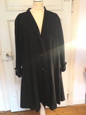 SMARTI Abrigo ancho negro