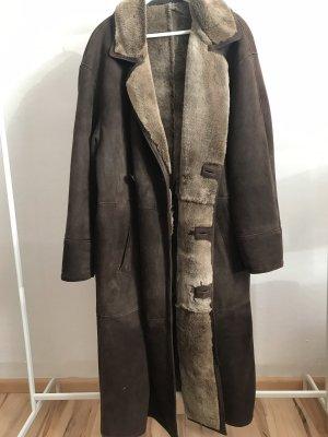 Vintage Mantel Lammleder