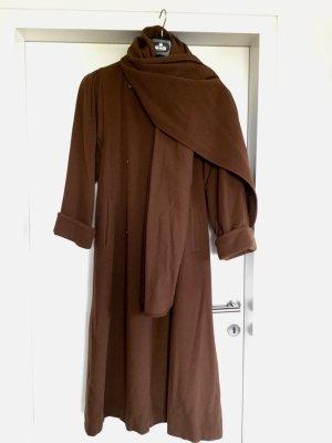 Vintage Mantel mit Schalkragen/ Schurwoll