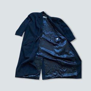 Chris Laut Manteau oversized noir
