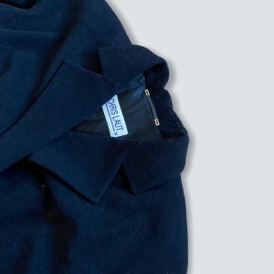 Chris Laut Oversized Coat black