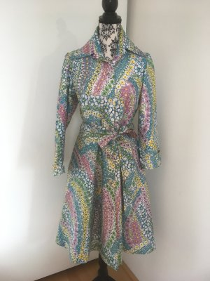 Robe manteau multicolore