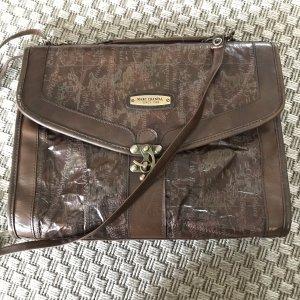 Vintage Marc Chantal Ledertasche Leder Handtasche Crossbody Aktenkoffer