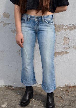 Vintage Mavi Low Waist Jeans weites Bein Y2K style 36/(38)