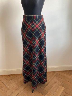 Maxi Skirt multicolored wool