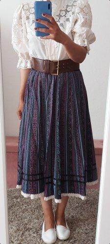 Maxi Skirt dark violet