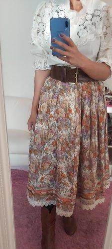 Jupe longue brun sable-beige