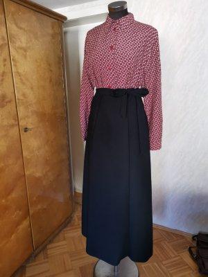Vintage Falda cruzada negro