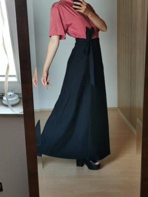Vintage Wraparound Skirt black